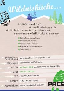 PACE DAY-Wildnisküche A6 Flyer rück