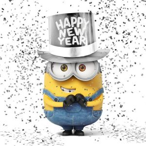Happy New Year Minion